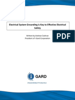 IGardElectricalSystemGround - High Resistance Grounding 3 Wire System