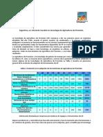 Bragachini - Argentina Un Referente Mundial en Tecnologia de Agricultura de Precision