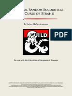 Additional Random Encounters for Curse of Strahd