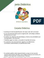 Carpeta Didáctica.