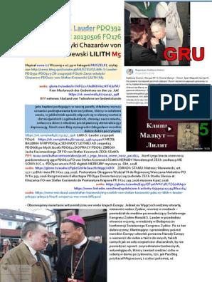 BFF-Fraktion MUSZELKI von Stefan Kosiewski SSetKh Lilith S. Lauder PDO392 PDO325 ZR FO176 ZECh PDO207 20190722 ME SOWA Lilith M5-scalone