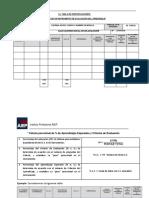 Anexo 1 Formatos de Diseño Elaboración y Corrección de Evaluaciones 2019