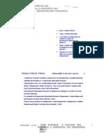Analise Horizontal e Vertical