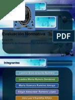 Evaluación Normativav2