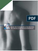 Guía de Cuidados a Pacientes en Oncología Radioterápica