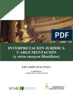 Intrpretación Jurídica y Argumentación