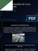 Sedimentadores de Flujo Horizontal