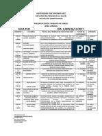 Presentacion Trabajos de Grado II-2017. Def. Nov