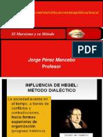 El Marxismo y Su Método