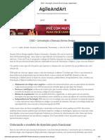 DDD – Introdução a Domain Driven Design