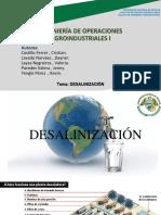 DESARROLLO DE PROCESOS DE DESALINIZACIÓN DE AGUA DE MAR DE MENOR COSTO UTILIZANDO TECNOLOGÍAS DE NANOFILTRACIÓN -GRUPO 7.pptx