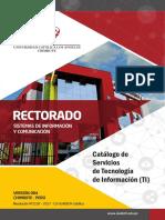 Catalogo Servicio Tecnologia Informacion 004