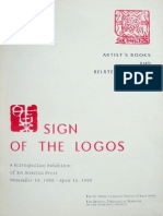 SignOfThe Logos_ARetrospectiveExhibitionOfSolInvictusPress_November1998-April1999