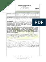 "SUMINISTRO E INSTALACIÓN DE VÁLVULA COMPUERTA ELASTICA VÁSTAGO NO ASCENDENTE 4"""