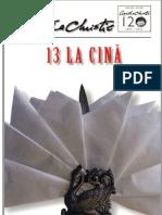 Agatha Christie - 13 La Cină (1933)