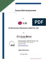 LG Rajkot - Warehouse Risk Assessment Report - Rev00