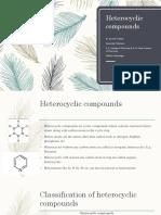 Heteocyclic Compounds