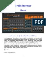 Brainstormer Manual Version 5 September 2015