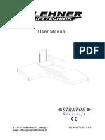 Stratos User Manual 2017