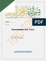 project decomentation