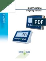 Ind236 Terminal User Manual