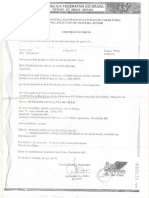 Certidão de Obto Reinaldo