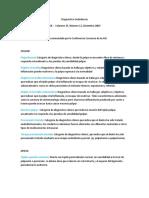 Diagnostico a.a.e. Joe 2012