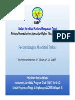 1. Paparan_instrumen Akreditasi Program Studi 4
