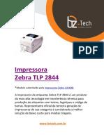 Manual Zebra Tlp 2844