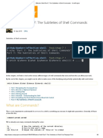 Effective Shell Part 7_ the Subtleties of Shell Commands - CodeProject