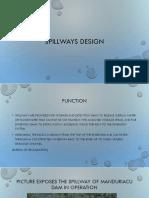 Spillway Design