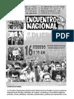 Encuentro Nacional de Los Pueblos