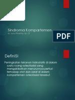 Sindroma Kompartemen RSOP DR SURYA