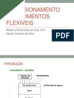 Dimensionamento de Pavimento Flexiveis