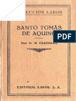 Grabmann, Martin -- Santo Tomas de Aquino