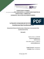 Monografia La Asunción Jurisprudencial