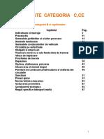 9.Teste C,CE Legislatie rutiera