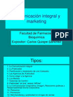 Comunicación Integral y Marketing