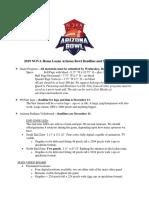 2019 NHLAB Spec Summary