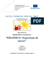 0 Simpozion National Erasmus Iris
