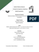 [b]Analisis y Diseño Estrutural Del Edificio 3 Que Alojará Las Instalaciones de La Alberca Semi Olimpica Para El Centro Deportivo Tecamac