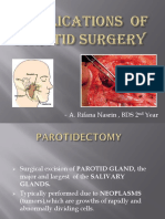 Complications of Parotid Surgery