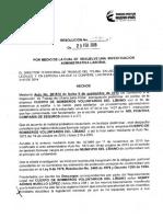 Resolución Sanción CBV y Alcaldia Del Libano
