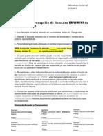 Proceso Para Recepción de Llamadas BMW MINI