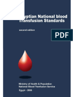 2006- Egyptian National Blood Transfusion Transfusion Standards