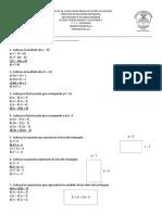 Examenes Matemáticas 2019-2020 3ro
