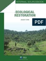 Ecological Restoration Source Book