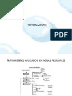 ingenieria en aguas y medio ambiente-pretratamiento