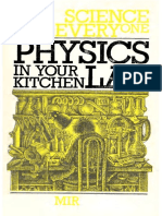 I. K. Kikoin, A. Zilberman-Physics in Your Kitchen Lab (Science for Everyone Series) -Mir Publishers, Moscow (1985)