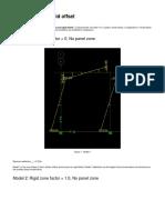 Panel Zone Rigid ETABS-SAP2000